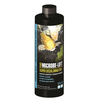 Microbe-Lift® Super Dechlorinator PLUS Water Conditioner, 16 Ounces