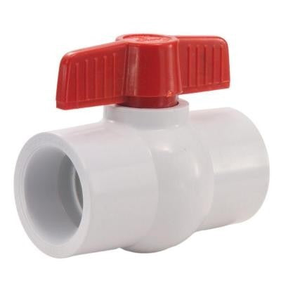 Ball Valves with Slip Joint Connections