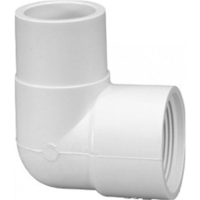 90 Degree Female Thread to Spigot PVC Elbow