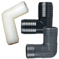 90 Degree Insert to Insert (Barb to Barb) PVC Elbows