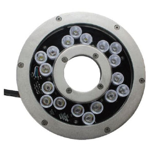ProEco Commercial 18-LED Color-Changing Fountain Light Ring