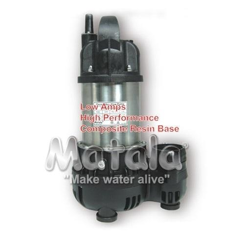 Matala Geyser Max-Flow Submersible Water Pumps