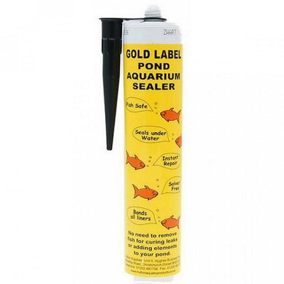 Gold Label Pond & Aquarium Sealer, 290ml Black