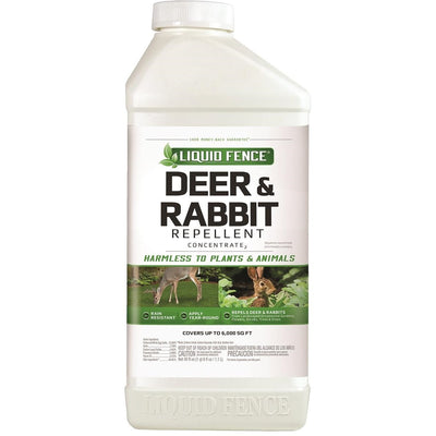 Liquid Fence® Deer & Rabbit Repellent Concentrated Formula, 40 Ounce Bottle