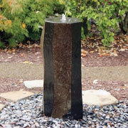EasyPro Tranquil Decor Polished Side Basalt Column Fountain