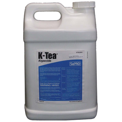 SePRO® K-Tea Liquid Algaecide, 2.5 Gallons