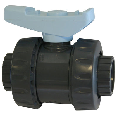 Evolution Aqua Dual Union Ball Valves with Slip Connections