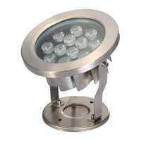 EasyPro 12 Watt Stainless Steel Underwater LED Light