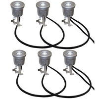 Kasco® Stainless Steel LED 6-Light Kits for J Series and VFX Series Fountains