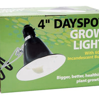 Product box for Hydrofarm® 60 Watt Agrosun Dayspot Grow Light Kit