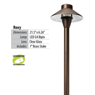 Illumicare Roxy Brass LED Path & Area Light