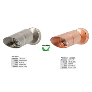 Illumicare Artemis LED Directional Copper Luminaire