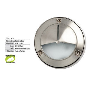 Illumicare Helios Stainless Steel LED Deck & Niche Light