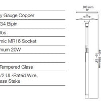 Illumicare Copper Adonis Path & Area Light Specifications
