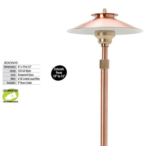 Illumicare Copper Adonis Path & Area Light