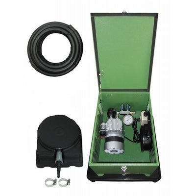 Matala MEA LAKE PRO 1C Rocking Piston Aeration Kit with Compressor, Air Hose & Diffusers