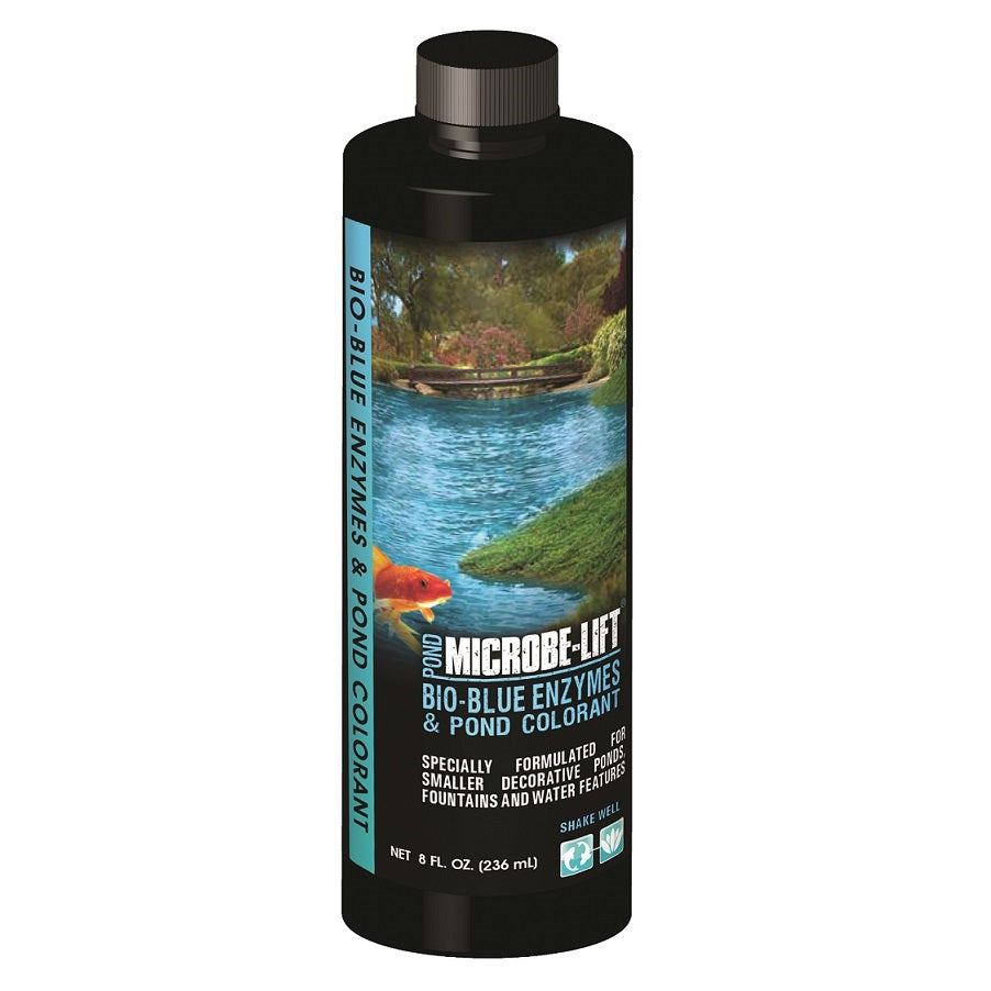 Microbe-Lift® Bio-Blue Enzymes & Pond Colorant, 8 Ounces