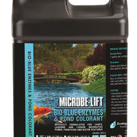 Microbe-Lift® Bio-Blue Enzymes & Pond Colorant, 5 Gallons