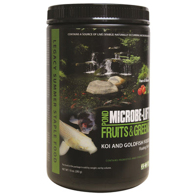 Microbe-Lift® Legacy Fruits & Greens Supplemental Fish Food, 10 Ounces