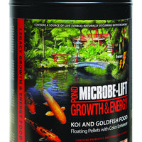 Microbe-Lift® Legacy Growth & Energy Fish Food with Color Enhancers, 2.25 Pounds