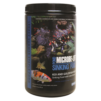 Microbe-Lift® Legacy Sinking Fish Food with Color Enhancers, 14 Ounces