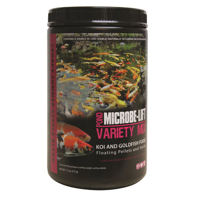 Microbe-Lift® Legacy Variety Mix Floating Koi & Goldfish Food, 11 Ounces