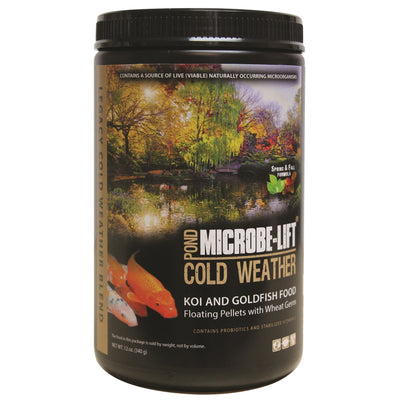 Microbe-Lift® Legacy Cold Weather Wheat Germ Fish Food, 12 Ounces