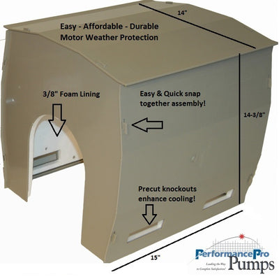 PerformancePro ProTect Pump and Motor House
