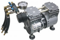 Matala MPC-120C Rocking Piston Compressor with Air Filter, Pressure Gauge & Air Manifold