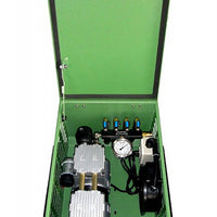 Matala MPC-200C1-4 Rocking Piston Compressor with Cabinet, Air Filter, Pressure Gauge & Air Manifold