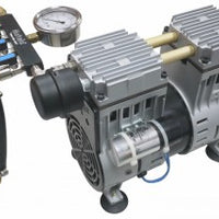 Matala MPC-200C-4 Rocking Piston Compressor with Air Filter, Pressure Gauge & Air Manifold