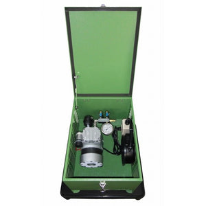 Matala MPC-60C1 Rocking Piston Compressor with Cabinet, Air Filter, Pressure Gauge & Air Manifold