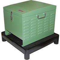 Matala Lake Aeration System Replacement Compressor Cabinet