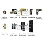 Replacement Fittings for Matala Lake Aeration Air Manifolds