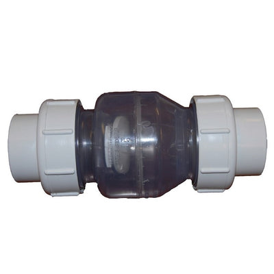 PerformancePro Clear Swing Check Valve with Slip Fittings