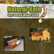 Natural Kote Nontoxic Soy-Based Wood Stain