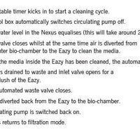 Gravity-fed cleaning instructions for Evolution Aqua Nexus™ Automatic Systems