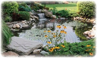 Dalen® Pond & Pool Netting Protective Floating Net installed over pond
