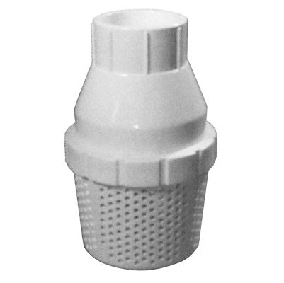 PVC Backflow Preventer / Foot Valve with Screened Intake