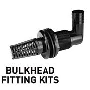 Helix Autofill Kit with 1//2 Bulkhead Fittings NO hose fittings or tubing