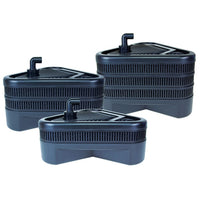 Lifegard Aquatics Uno, Duo, and Trio® Combination Pond Filters