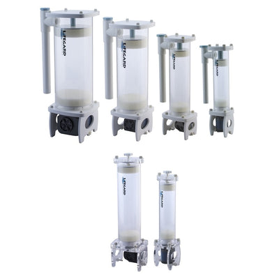 Lifegard Aquatics Turbo Reactors with Top Flow or Side Flow