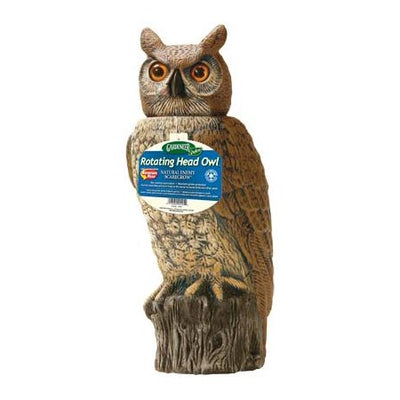 Dalen® Natural Enemy Scarecrow® Rotating-Head Owl