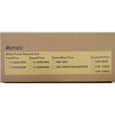 Matala Rebuild Kit for Geyser Max-Flow Pumps
