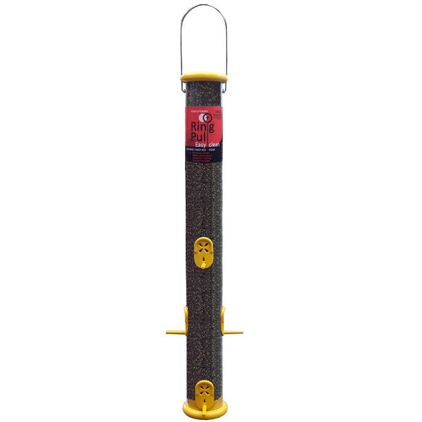 "Droll Yankees® Ring Pull 23"" Yellow Finch Feeder"