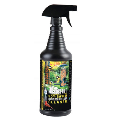 Microbe-Lift® Soy-Based Birdhouse & Birdfeeder Cleaner, 32 Ounces