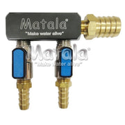 Matala Hakko Heavy Duty 2-Outlet Air Manifold