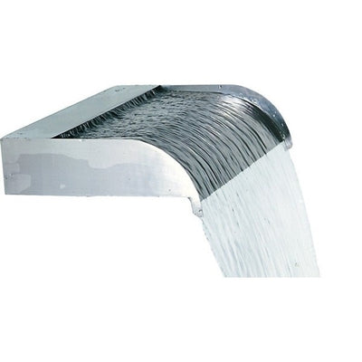 Stainless Steel Sheer Flow Ornamental Spillways