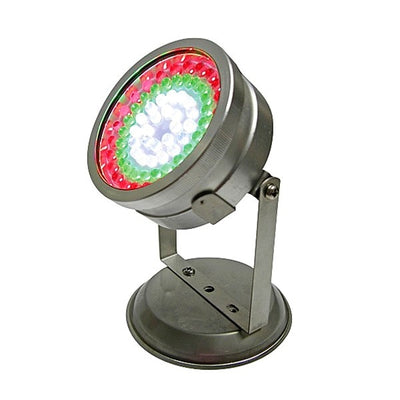 72-LED Red, Yellow and Blue Landscape Pond Light