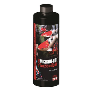 Microbe-Lift® Stress Relief for Pond Fish, 16 Ounces